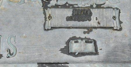 BURNS, HAZEL (CLOSE UP) - Vernon County, Louisiana | HAZEL (CLOSE UP) BURNS - Louisiana Gravestone Photos