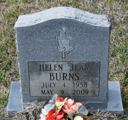 BURNS, HELEN JEAN - Vernon County, Louisiana | HELEN JEAN BURNS - Louisiana Gravestone Photos