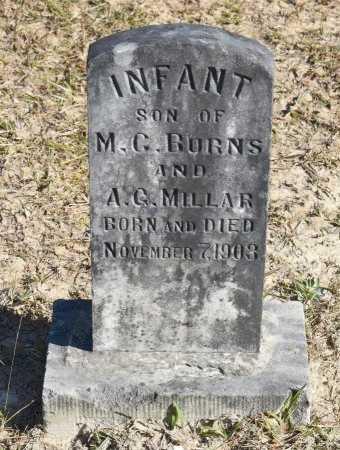 BURNS, INFANT - Vernon County, Louisiana | INFANT BURNS - Louisiana Gravestone Photos