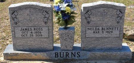 BURNS, JAMES ROSS - Vernon County, Louisiana | JAMES ROSS BURNS - Louisiana Gravestone Photos