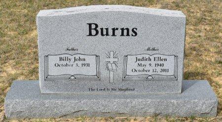 BURNS, JUDITH ELLEN - Vernon County, Louisiana   JUDITH ELLEN BURNS - Louisiana Gravestone Photos