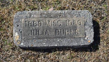 BURNS, JULIA - Vernon County, Louisiana   JULIA BURNS - Louisiana Gravestone Photos