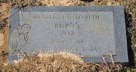 BURNS, KATHERINE ELIZABETH - Vernon County, Louisiana | KATHERINE ELIZABETH BURNS - Louisiana Gravestone Photos