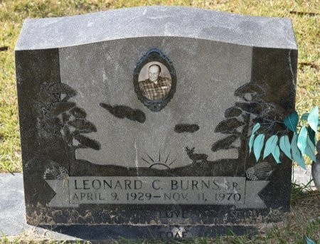 BURNS, LEONARD C, SR - Vernon County, Louisiana | LEONARD C, SR BURNS - Louisiana Gravestone Photos