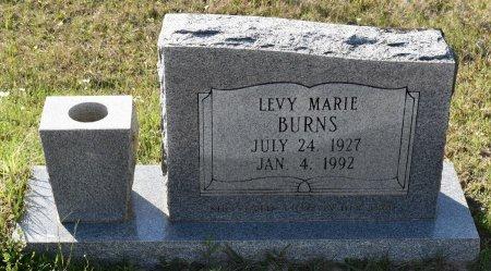 BURNS, LEVY MARIE - Vernon County, Louisiana   LEVY MARIE BURNS - Louisiana Gravestone Photos