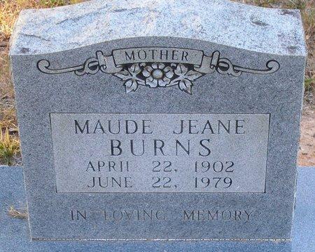 BURNS, MAUDE - Vernon County, Louisiana | MAUDE BURNS - Louisiana Gravestone Photos
