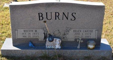 BURNS, MELVIN M - Vernon County, Louisiana | MELVIN M BURNS - Louisiana Gravestone Photos