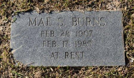 BURNS, MAE - Vernon County, Louisiana | MAE BURNS - Louisiana Gravestone Photos