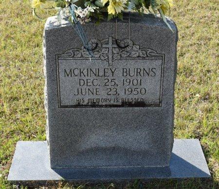 BURNS, MCKINLEY - Vernon County, Louisiana   MCKINLEY BURNS - Louisiana Gravestone Photos