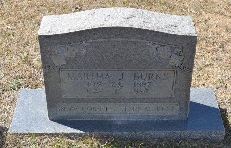 BURNS, MARTHA J - Vernon County, Louisiana | MARTHA J BURNS - Louisiana Gravestone Photos