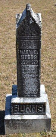 BURNS, MARY E - Vernon County, Louisiana | MARY E BURNS - Louisiana Gravestone Photos