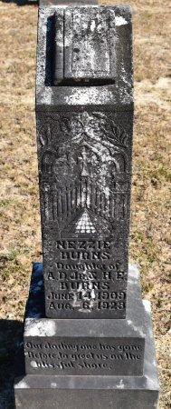 BURNS, NEZZIE - Vernon County, Louisiana   NEZZIE BURNS - Louisiana Gravestone Photos