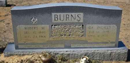 BURNS, ROBERT M - Vernon County, Louisiana | ROBERT M BURNS - Louisiana Gravestone Photos