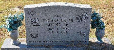BURNS, THOMAS RALPH, JR - Vernon County, Louisiana | THOMAS RALPH, JR BURNS - Louisiana Gravestone Photos