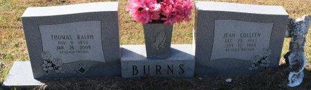 BURNS, THOMAS RALPH, SR - Vernon County, Louisiana | THOMAS RALPH, SR BURNS - Louisiana Gravestone Photos