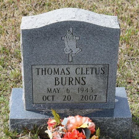 BURNS, THOMAS CLETUS - Vernon County, Louisiana | THOMAS CLETUS BURNS - Louisiana Gravestone Photos