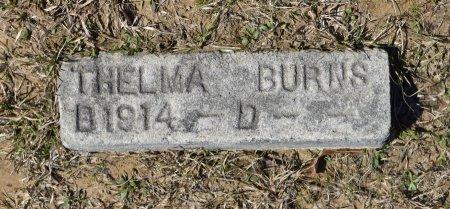 BURNS, THELMA - Vernon County, Louisiana | THELMA BURNS - Louisiana Gravestone Photos