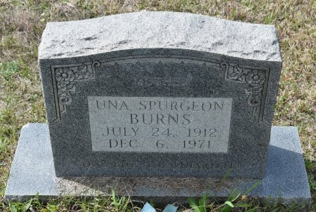 BURNS, UNA - Vernon County, Louisiana | UNA BURNS - Louisiana Gravestone Photos