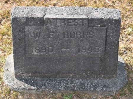 BURNS, W E - Vernon County, Louisiana   W E BURNS - Louisiana Gravestone Photos