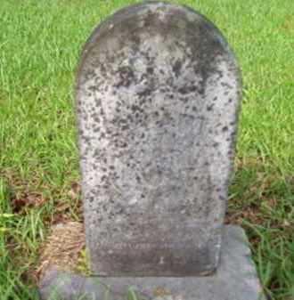 BURR, INFANT - Vernon County, Louisiana   INFANT BURR - Louisiana Gravestone Photos