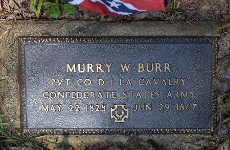 BURR, MURRY W (VETERAN CSA) - Vernon County, Louisiana | MURRY W (VETERAN CSA) BURR - Louisiana Gravestone Photos