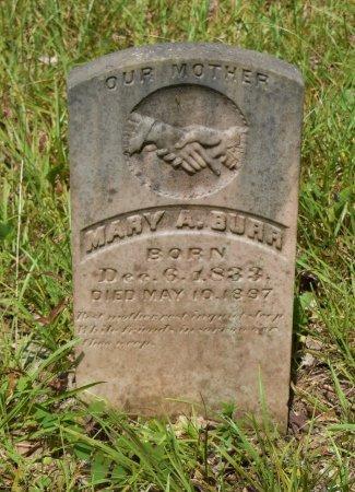 BURR, MARY A - Vernon County, Louisiana   MARY A BURR - Louisiana Gravestone Photos