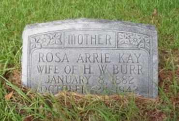 BURR, ROSA ARRIE - Vernon County, Louisiana | ROSA ARRIE BURR - Louisiana Gravestone Photos