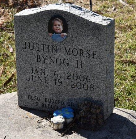 BYNOG, JUSTIN MORSE II - Vernon County, Louisiana | JUSTIN MORSE II BYNOG - Louisiana Gravestone Photos