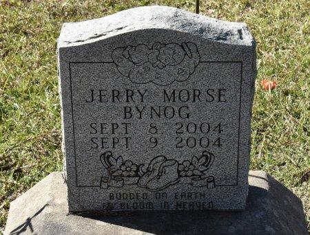 BYNOG, JERRY MORSE - Vernon County, Louisiana   JERRY MORSE BYNOG - Louisiana Gravestone Photos