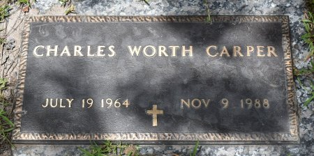 CARPER, CHARLES WORTH - Vernon County, Louisiana | CHARLES WORTH CARPER - Louisiana Gravestone Photos