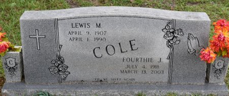 COLE, LEWIS M - Vernon County, Louisiana | LEWIS M COLE - Louisiana Gravestone Photos