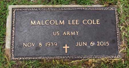 COLE  , MALCOLM LEE (VETERAN) - Vernon County, Louisiana | MALCOLM LEE (VETERAN) COLE   - Louisiana Gravestone Photos