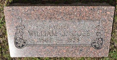 COLE, WILLIAM J - Vernon County, Louisiana | WILLIAM J COLE - Louisiana Gravestone Photos