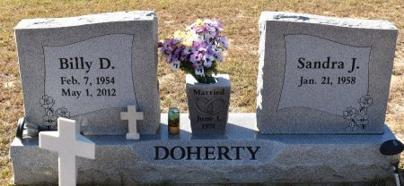 DOHERTY, BILLY DARRON - Vernon County, Louisiana   BILLY DARRON DOHERTY - Louisiana Gravestone Photos