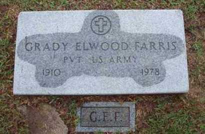 FARRIS, GRADY ELWOOD (VETERAN WWII) - Vernon County, Louisiana | GRADY ELWOOD (VETERAN WWII) FARRIS - Louisiana Gravestone Photos