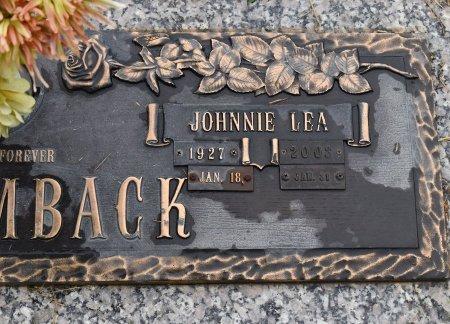 HOLSOMBACK, JOHNNIE LEA (CLOSE UP) - Vernon County, Louisiana | JOHNNIE LEA (CLOSE UP) HOLSOMBACK - Louisiana Gravestone Photos