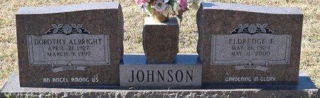 JOHNSON, DOROTHY - Vernon County, Louisiana | DOROTHY JOHNSON - Louisiana Gravestone Photos