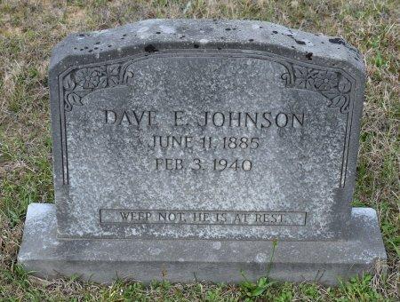 JOHNSON, DAVE E - Vernon County, Louisiana | DAVE E JOHNSON - Louisiana Gravestone Photos