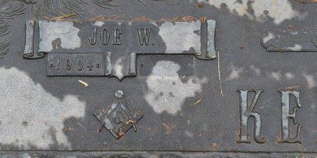 KELLY, JOE W (CLOSE UP) - Vernon County, Louisiana | JOE W (CLOSE UP) KELLY - Louisiana Gravestone Photos