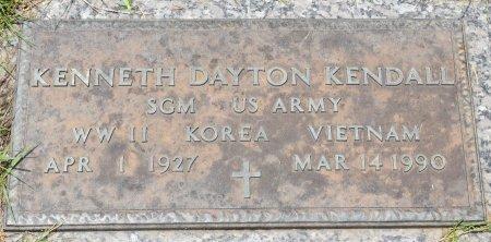 KENDALL, KENNETH DAYTON (VETERAN 3 WARS) - Vernon County, Louisiana | KENNETH DAYTON (VETERAN 3 WARS) KENDALL - Louisiana Gravestone Photos