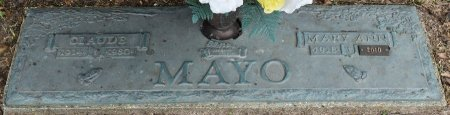 MAYO, CLAUDE - Vernon County, Louisiana | CLAUDE MAYO - Louisiana Gravestone Photos