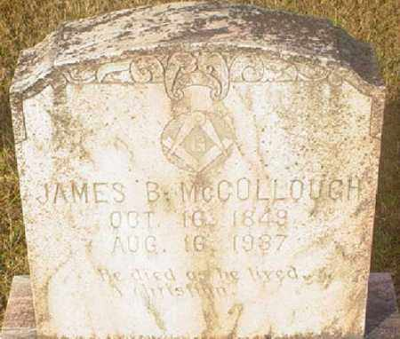MCCOLLOUGH, JAMES B - Vernon County, Louisiana | JAMES B MCCOLLOUGH - Louisiana Gravestone Photos
