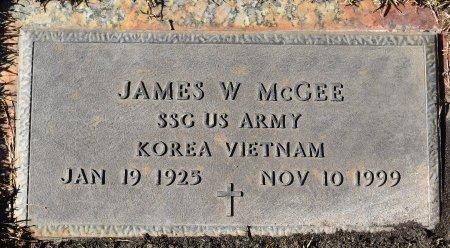 MCGEE  , JAMES W (VETERAN 2 WARS) - Vernon County, Louisiana | JAMES W (VETERAN 2 WARS) MCGEE   - Louisiana Gravestone Photos