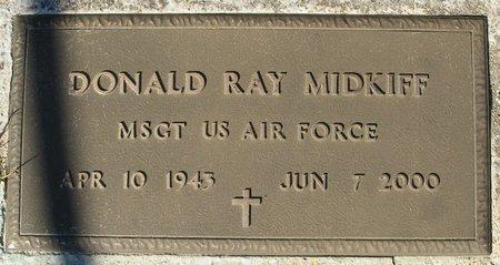 MIDKIFF, DONALD RAY (VETERAN) - Vernon County, Louisiana | DONALD RAY (VETERAN) MIDKIFF - Louisiana Gravestone Photos