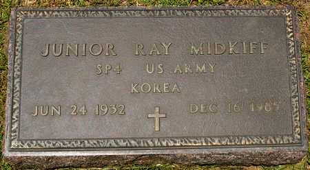 MIDKIFF, JUNIOR RAY (VETERAN KOR) - Vernon County, Louisiana | JUNIOR RAY (VETERAN KOR) MIDKIFF - Louisiana Gravestone Photos