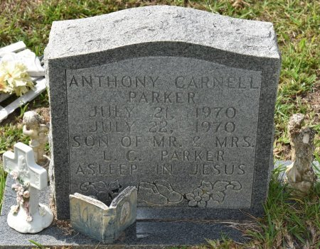 PARKER, ANTHONY CARNELL - Vernon County, Louisiana | ANTHONY CARNELL PARKER - Louisiana Gravestone Photos