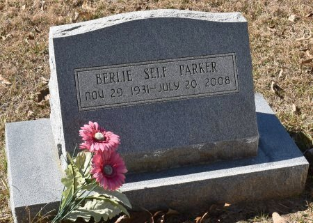 PARKER, BERLIE SELF - Vernon County, Louisiana | BERLIE SELF PARKER - Louisiana Gravestone Photos