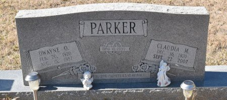 PARKER, CLAUDIA - Vernon County, Louisiana | CLAUDIA PARKER - Louisiana Gravestone Photos