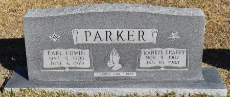 PARKER, FRANKYE CHANEY - Vernon County, Louisiana | FRANKYE CHANEY PARKER - Louisiana Gravestone Photos
