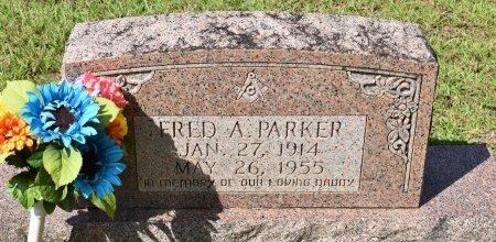 PARKER, FRED A - Vernon County, Louisiana | FRED A PARKER - Louisiana Gravestone Photos